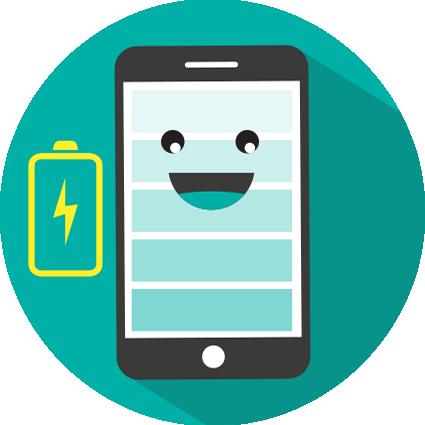 Changer batterie smartphone et tablette Eragny