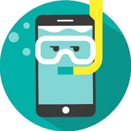 Téléphone tombé dans l'eau desoxydation et réparation